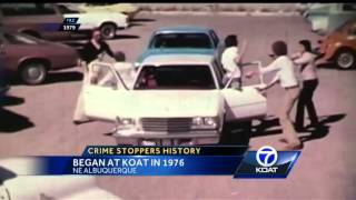 APD detective, KOAT started Crime Stoppers