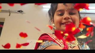 Eshwari Half Saree Function Promo By Venkatesh   NANDAN DRUVAN STUDIOS