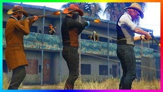 GTA ONLINE WILD WEST FREEMODE BECOMING AN OUTLAW - CHILIAD COWBOYS, ULTIMATE RED DEAD HYPE & MORE!