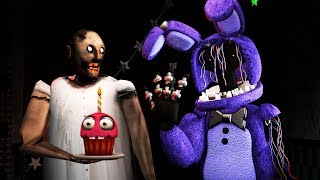 How To Make SLENDRINA GRANNY NOT SCARY #2 FEAT WITHERED BONNIE