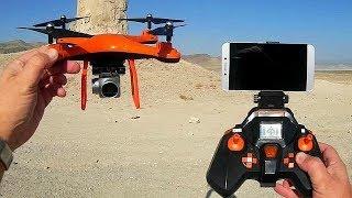 Quadcopter S10 FPV Camera Drone Flight Test Review