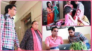 London Se Devarji Dekhiye Kya Laye - Saas Jane Ki Khushi Ya Dukh ?   Indian Mom On Duty