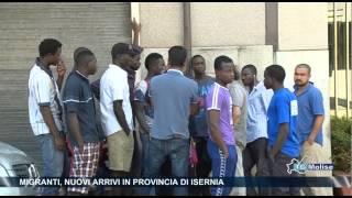 Migranti, nuovi arrivi in provincia di Isernia