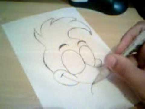 Como desenhar o pica pau