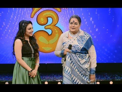 Onnum Onnum Moonu Season 2 I Ep 01 - Grand entry with Usha Uthup I Mazhavil Manorama