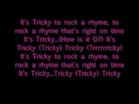 It's Tricky Run D.M.C. with lyrics