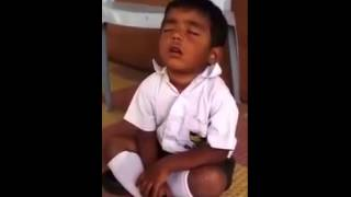 Funny Kid Sleeping