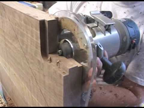 Rocking Chairs Cutting seat joints