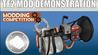 TF2 Mod Weapon Demonstration: The Bass Booster (With custom sounds!)