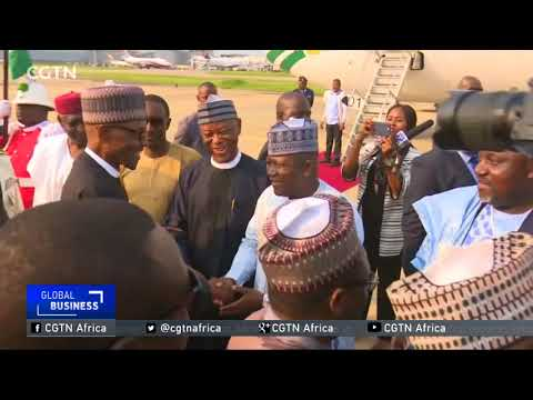 Nigeria's President Buhari officially resumes his duties