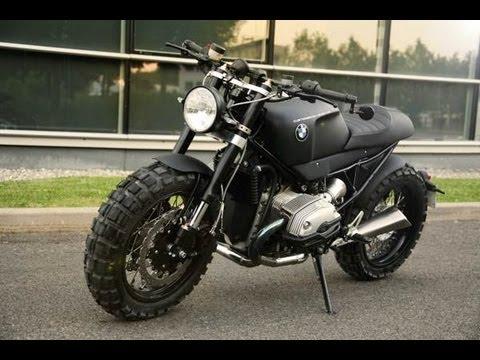 BMW R1200 R A Scrambler Motorcycle for Lazareth