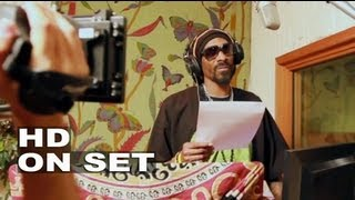 Turbo: Snoop Dogg Voicing his Character for the Movie