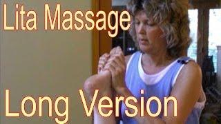 Lita ASMR Massage - Legs & Feet - Long Version - Massageclips