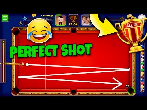 8 Ball Pool Monaco All In EXQUISITE INDIRECT TRICK SHOT FOR VICTORY Galaxy Cue Gameplay
