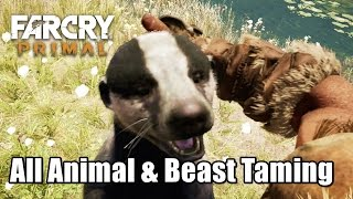 All Animal and Beast Taming stats & abillties Far Cry Primal
