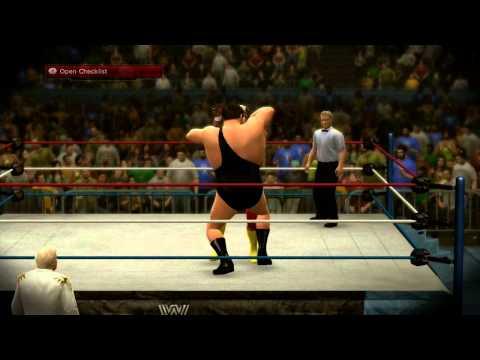 WWE 2K14 30 Years of Wrestlemania Match 4 Hulk Hogan vs Andre The Giant Full Match