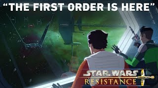 """The First Order is Here- """"Station Theta-Black"""" Preview 