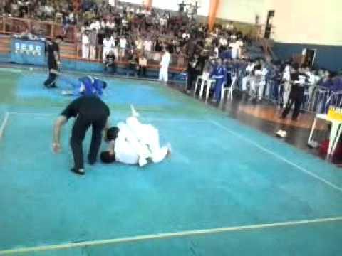 campeonado cearence de jiu-jitsu 1ª luta de john rotivale