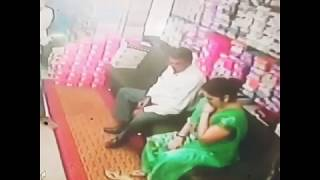 Old Man Romance With Hot Aunty - Shopping Holl