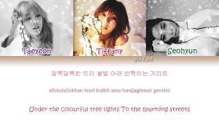 Girls' Generation-TTS (소녀시대-태티서) - Dear Santa (Color Coded Han Rom Eng Lyrics)   by Yankat