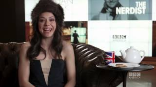 Tatiana Maslany: 3 Questions, 2 Biscuits + 1 Cup of Tea, Part 2 - ORPHAN BLACK BBC America
