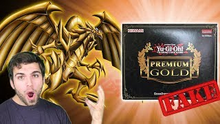 GODLY YuGiOh 2014 Premium Gold Box Opening, Search for the GOD CARDS!! Fake Pack Opening!? #MMM