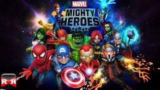 Marvel Mighty Heroes (By DeNA Corp.) - iOS / Android - Gameplay Video