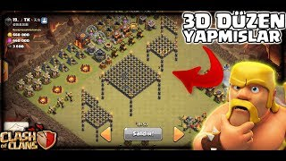 EN TROLL KLAN SAVAŞI (3D Duzenli Köyler) | Clash Of Clans