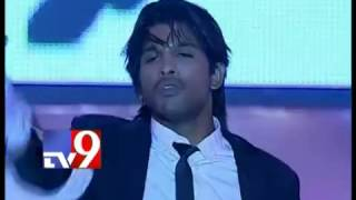Allu Arjun dances to Michael Jackson songs   Tv9