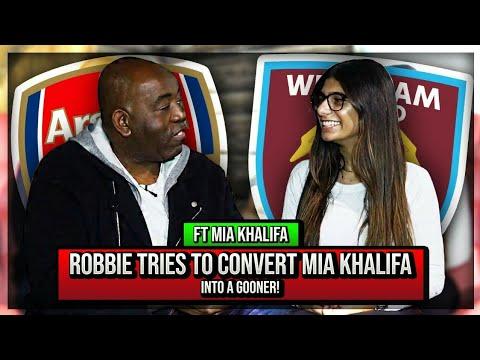 Xxx Mp4 Robbie Tries To Convert Mia Khalifa Into A Gooner West Ham V Arsenal 3gp Sex