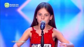Arabs Got Talent - مرحلة تجارب الاداء - الاردن– ايمان بيشه