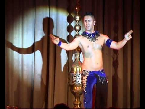 TURKISH MALE BELLY DANCER ZADiEL Oriental Dance belly Dance