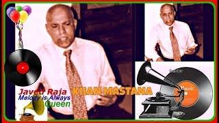 KHAN MASTANA-Film-DHANNA BHAGHAT-1945-Panchhi Pinjra Hua Purana-[ Rare Gem ]