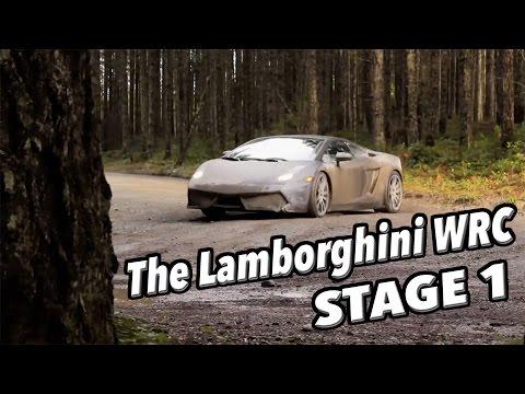 The Lamborghini WRC Stage One