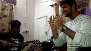 Munjaane manjalli unplugged version - Backyard music sessions