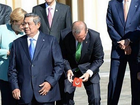 Perdana Menteri Turki, Erdogan memungut benderanya - G20 Russia
