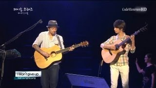 Jason Mraz ft. Sungha Jung - 93 Million Miles / I won't give up (May 31, 2013)