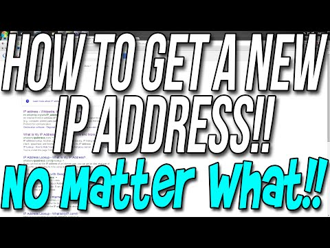 How To Change Your Public IP Address No Matter What!! (Get A New Public IP Address!!)