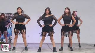 AOA (에이오에이) Love Angels Perú - Good Luck (굿럭) Oficial Dance, Cover Hot Stage 1