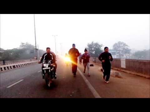 Hitech Running video Delhi police Physical test girls 7834834234