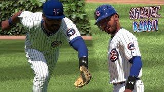 MLB The Show 18 Skeeter Rabbit Road To The Show (CF) Chicago Cubs vs Yankees & DBacks MLB 18 RTTS