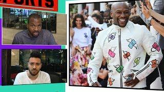 Floyd Mayweather Walks French Fashion Show With Paris Hilton | TMZ Sports