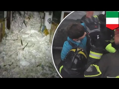 Surviving an avalanche: Italy avalanche victims ate snow in 58-hour Rigopiano ordeal - TomoNews
