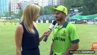 Sahibzada Farhan First Ever Interview & Batting Highlights