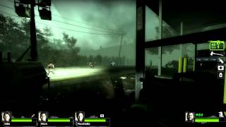 Left 4 Dead 2 walkthrough - Hard Rain