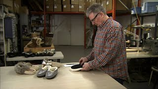 Watch These Craftspeople Create Cozy Fur-Lined Moccasins | How It