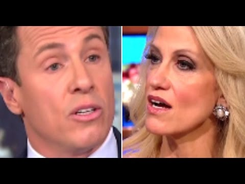 'Everybody can see it' CNN's Chris Cuomo fights Kellyanne Conway's denials Trump mocked reporter