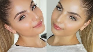 Fresh Skin, Glowing Face Makeup Tutorial + Skin Prep