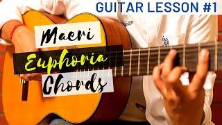 Maeri (Euphoria) Guitar Lesson | Part I| Detailed Tutorial