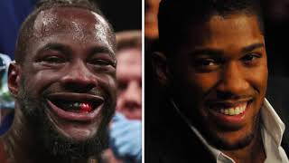 ANTHONY JOSHUA TELLS DEONTAY WILDER TO BE SENSIBLE IN NEGOTIATIONS OR DILLIAN WHYTE IS NEXT!!